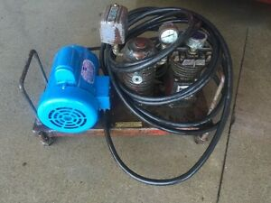 220 Volt Air Compressor with 1 hp electric motor