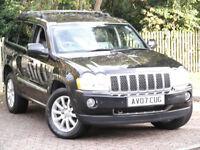 Jeep Grand Cherokee 3.0CRD V6 Overland**AUTO DIESEL**STUNNING 4X4**FSH**215BHP**