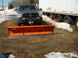Dodge ram hemi 1500  2008   4 x 4 with artic snow plow