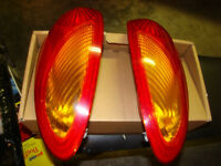 PT Cruiser headlights, and taillights