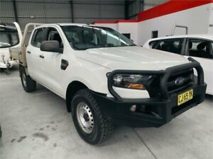 2016 Ford Ranger PX MkII XL White 6 Speed Manual Cab Chassis Boolaroo Lake Macquarie Area Preview