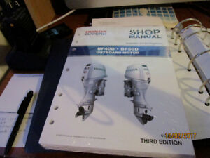 Honda Outboard Factory Shop Manual 40 HP and 50 HP New