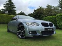 2011 61 BMW 3 SERIES 2.0 320D M SPORT 2D 181 BHP WITH FULL CREAM LEATHER DIESEL