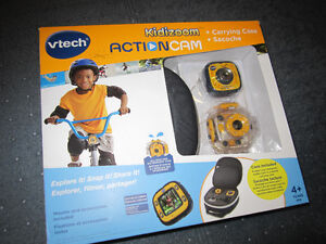 VTech Kidizoom Action Cam & Carry Case - like New, No Box - $42.