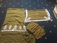 Heavy fancy beads work wedding party Eid beautiful material unstitched PRP £65