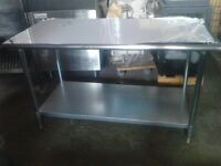 NEW !Stainless Steel work table 6 ft !SAVE!