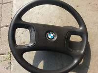 BMW E36 3 Series Four Spoke Steering Wheel Non Airbag OEM