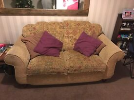 Two, large twin seater sofa's - High Quality