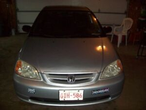 2003 Honda civic 30 year special adition  2 door coupe