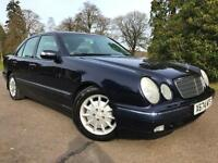 *RARE FIND*ONLY 45.000 MILES WITH FSH MERCEDES E240 2.6 ELEGANCE AUTO WITH FSH*
