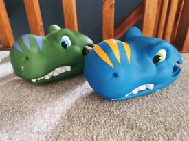 Dinosaur Scoota Headz
