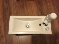 Calypso White Cloakroom Sink