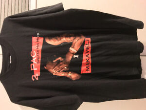 Tupac Vintage Shirt . 1990s Death row records . Rare