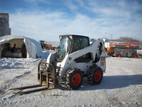 2009 Bobcat S250 Skid Steer with Attachments For Sale