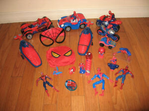 Figures Collections -Spider-Man,  Minions, Farby and more