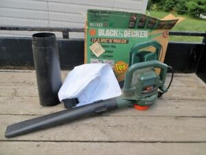 Black & Decker Blower/Mulcher