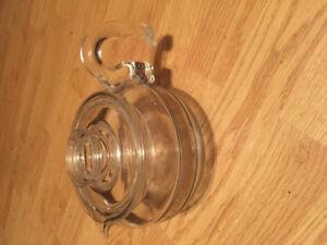 Pyrex tea pot