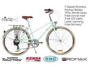 NIXEYCLES Nixte-C (Unisex) 7 Speed Bicycle   Free Delivery Sydney City Inner Sydney Preview