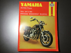 Yamaha XS 1100 Fours 1977-1980 Shop Manual XS1100E  E F SF G SG