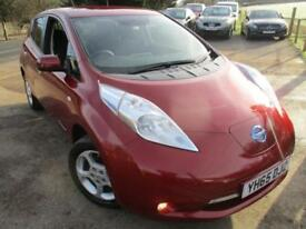 2015 NISSAN LEAF ACENTA ELECTRIC/HYBRID HATCHBACK ELECTRICITY