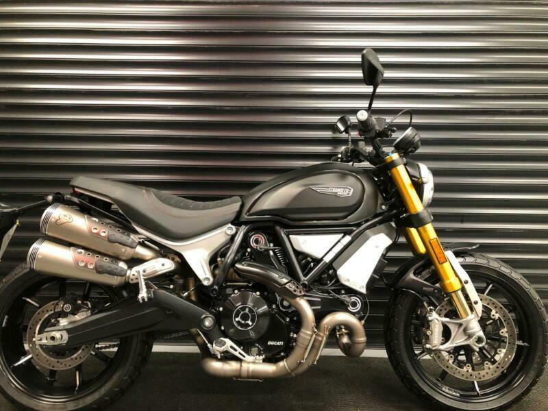 Ducati Scrambler 1100 Sport Termignoni Performance Package