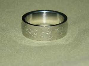 Stainless S. Celtic Ring