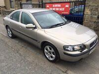 VOLVO S60 DS S AUTOMATIC (52) 94000 , FULL SERVICE HISTORY, MOT MAY 17, WARRANTY £1695