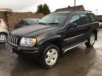 2004 Jeep Grand Cherokee 2.7 CRD Limited Station Wagon 5dr Diesel Automatic