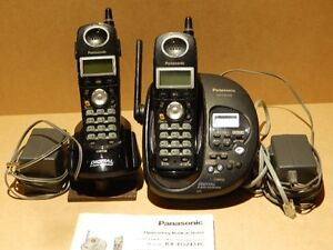 Panasonic Digital Answering System With Duel Cordless Hand Sets