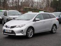 Toyota Auris Excel 1.8 VVT-i E-CVT (silver) 2014