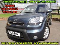 2010 Kia Soul 1.6CRDi Auto 2 - ONLY 43000mls Service Hist - KMT Cars