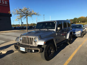 2017 Jeep Wrangler 75th anniversary Unlimited as new condition