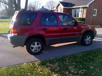 2001 Ford Escape SUV, V6, great shape