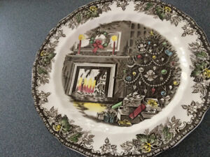 Johnson Brothers Friendly Village Christmas 12 1/2 in Platter