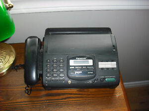 Telephone and Fax Machine in 1