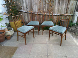 Vintage dining chairs - delivery available