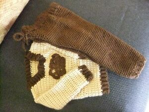 Various Hand Crocheted Items