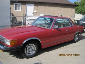 MUST SELL 1978 MERCEDES-BENZ 450 SLC