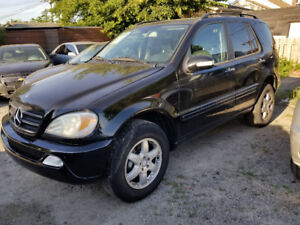 2004 Mercedes-Benz M-Class 500ML SUV, Crossover