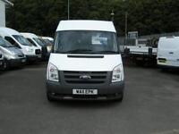 2011/11 FORD TRANSIT T300 140 MWB MED/ROOF FWD 9 SEATER SHUTTLE MINIBUS DIESEL