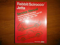 1980-1984 VW GTI Rabbit Truck Scirocco Cabrio Jetta Shop Manual