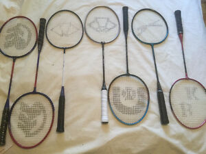 Badminton Racquet Blowout!! While supplies lasts I!!!
