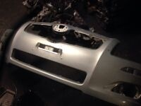Toyota Avensis 07 front bumper