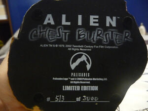 Alien Chest Burster Statue Bust West Island Greater Montréal image 6