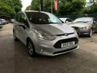 Ford B-Max 1.4 ( 90ps ) 2013.5MY Zetec FREE WARRANTY FINANCE LOVELY CONDITION