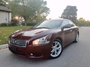 2013 Nissan Maxima SV 3.5L Free accidents and Certified