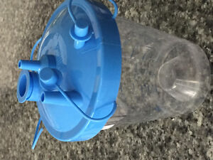 Plastic cup for suction machines