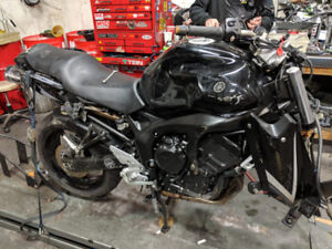 2008 Yamaha FZ6 for parts  RPM Cycle