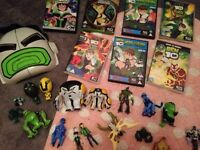 Big Ben 10 bundle DVDs and toys