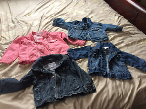 Baby/toddler jean jackets